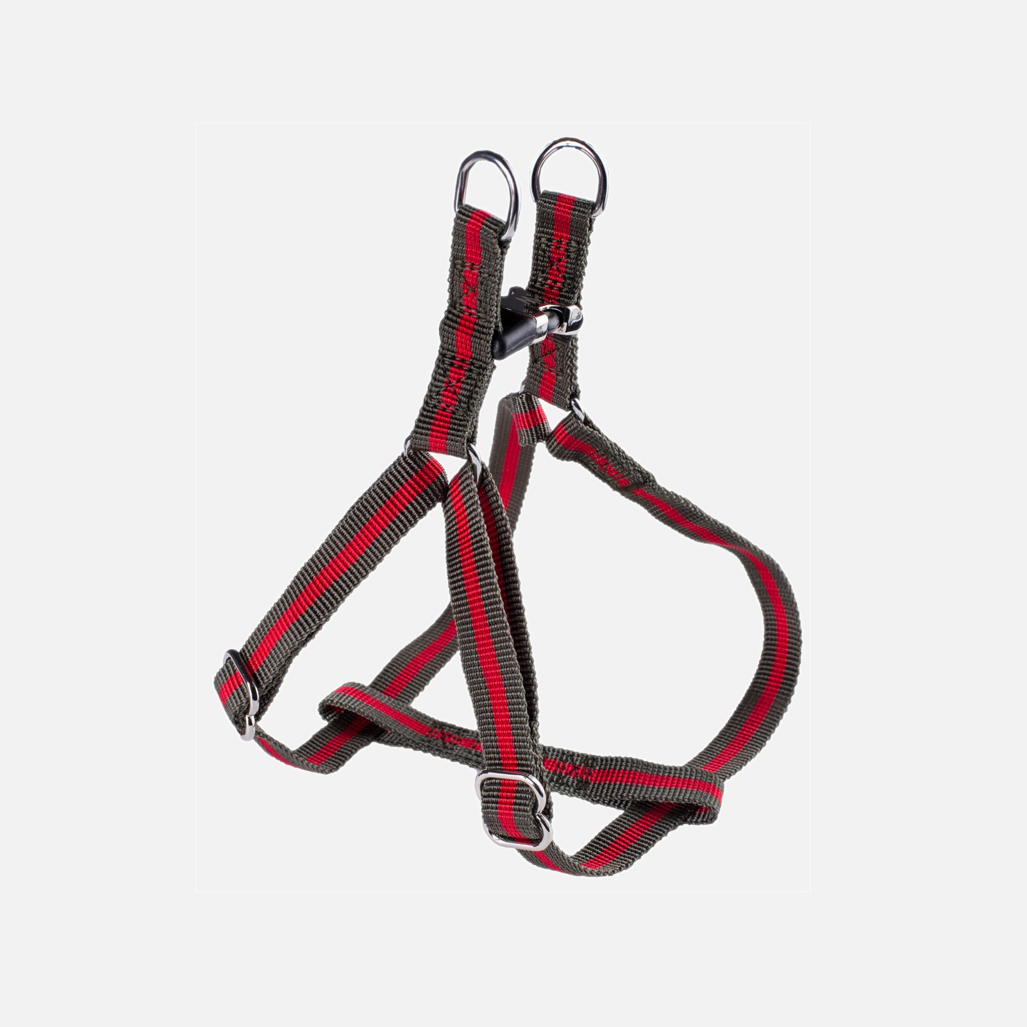 harnais-kaki-rouge