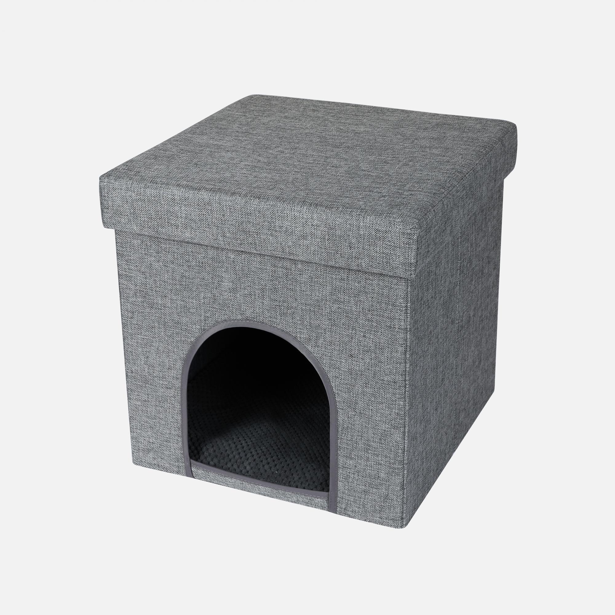 Boîtes à chat Le Tabouret par Wouapy