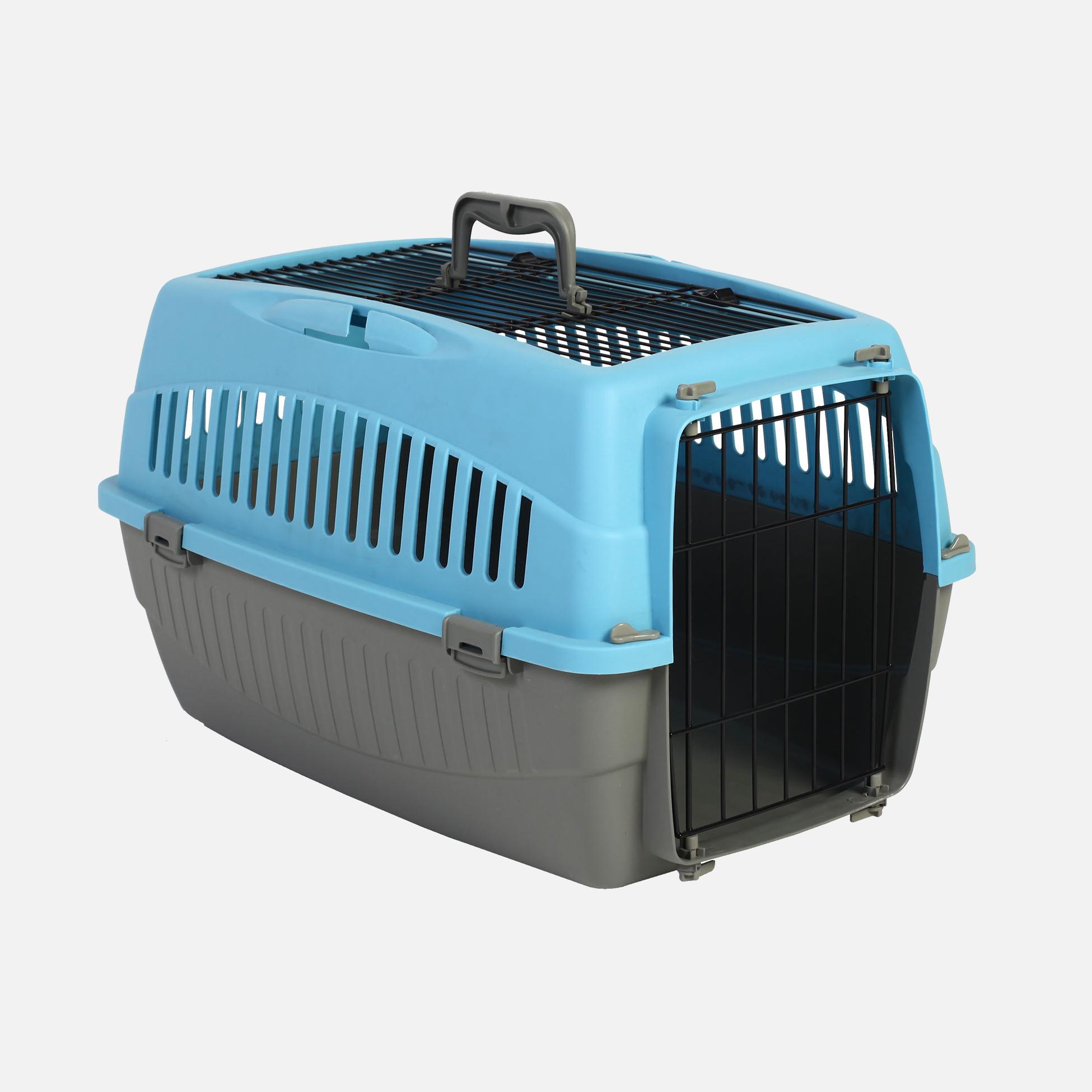 Caisses plastique de transport double ouverture bleu par wouapy