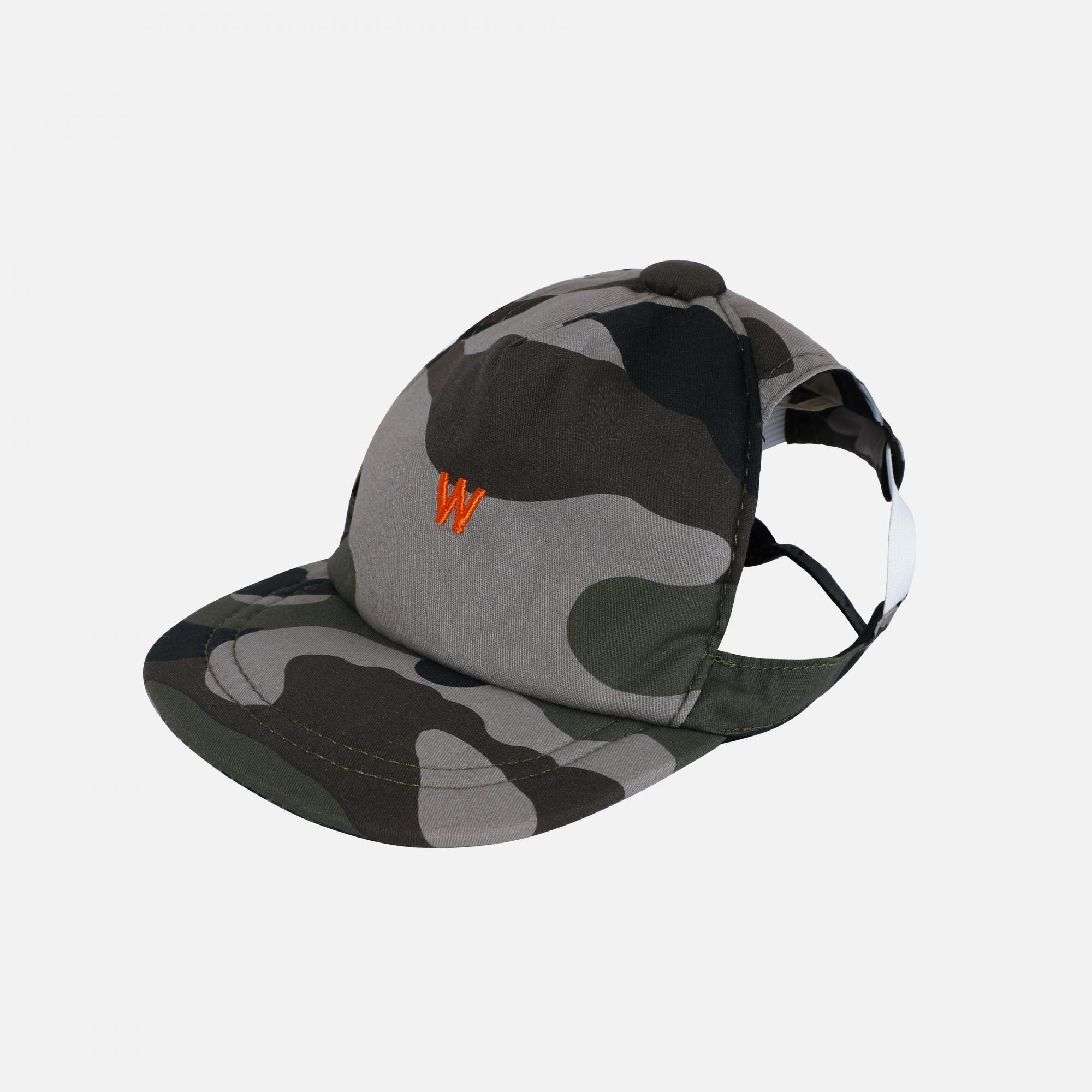 Casquettes camouflage par Wouapy