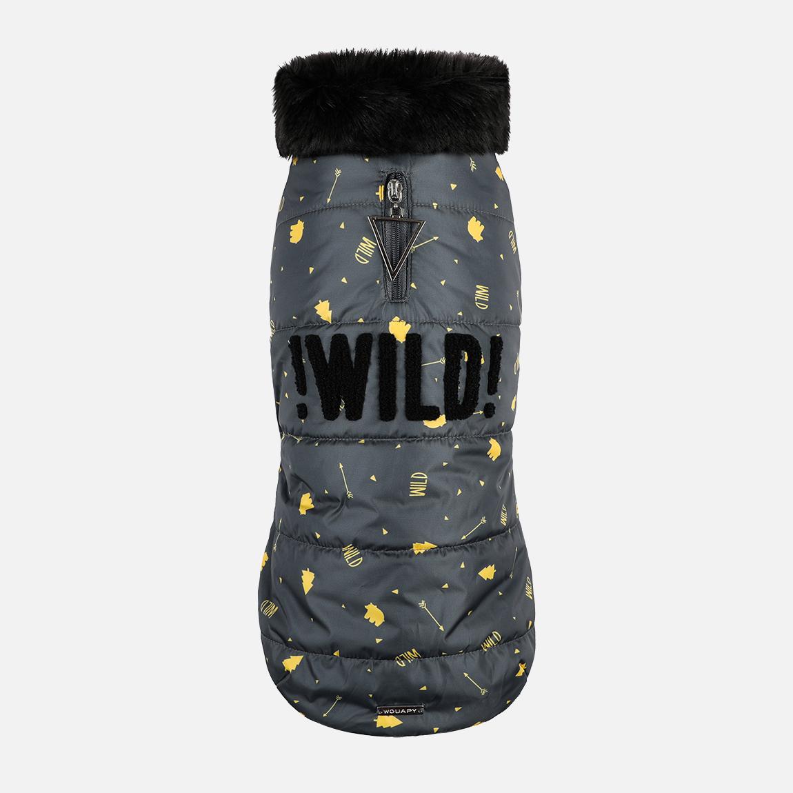 Manteaux fantaisies wild gris par Wouapy