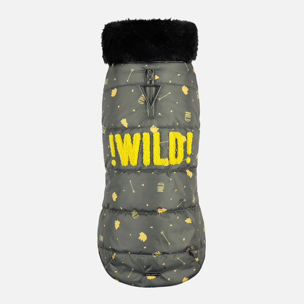 Manteaux fantaisies wild kaki par Wouapy