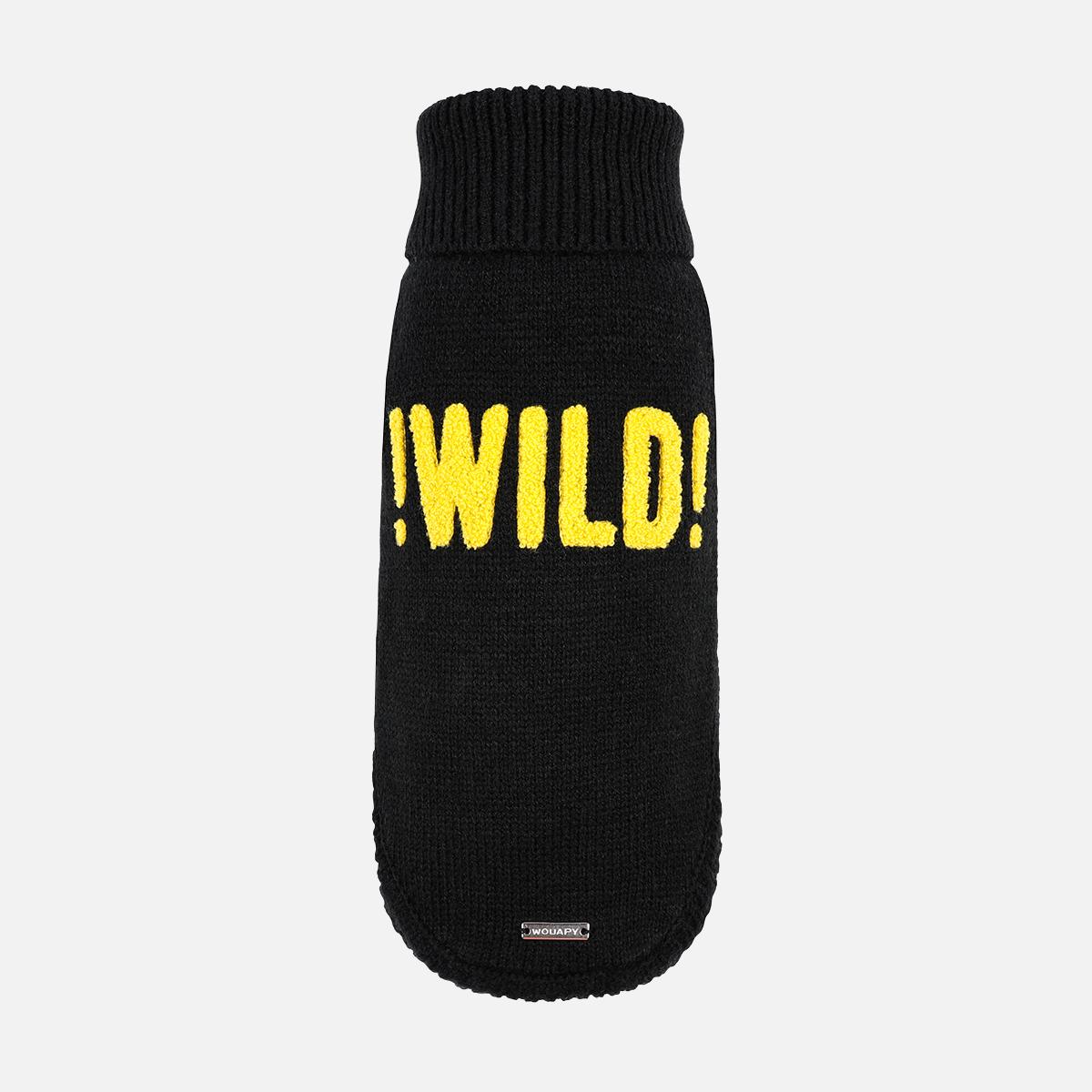 Pull wild noir de wouapy