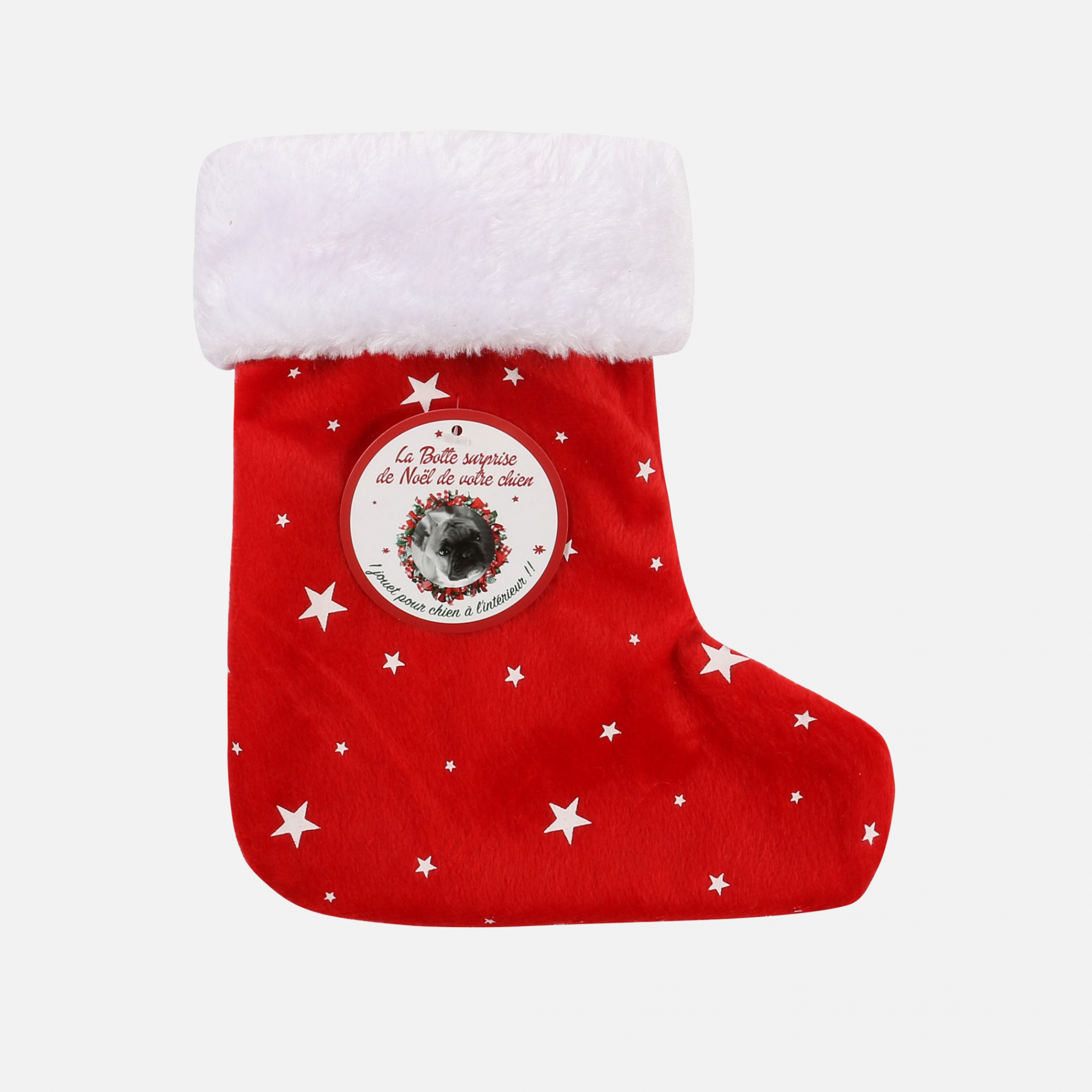 Botte surprise chien de noel par wouapy