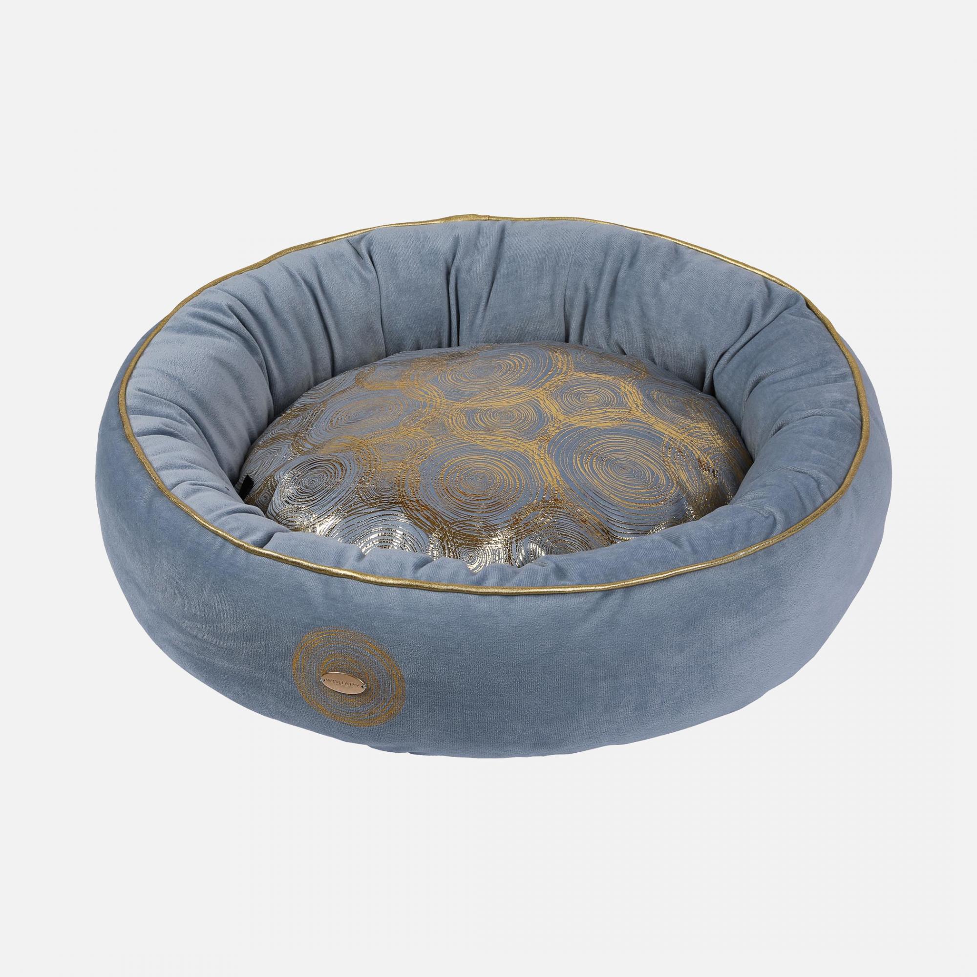 Corbeille ronde golden par wouapy