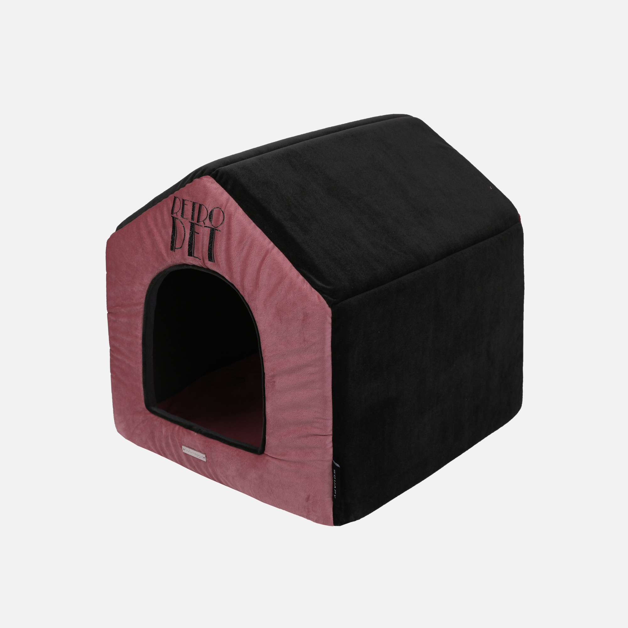 Maison Chat Retro Pet par Wouapy
