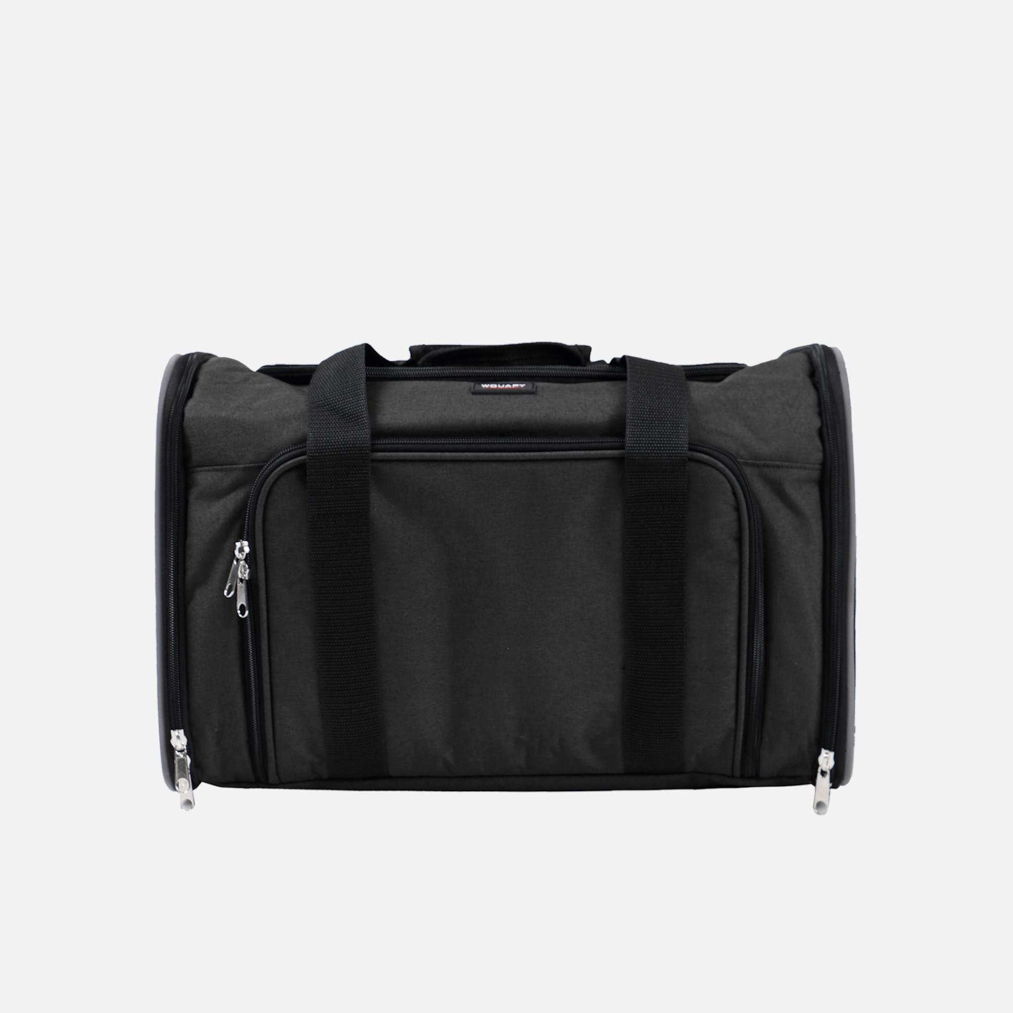 sac camping noir déplié de wouapy