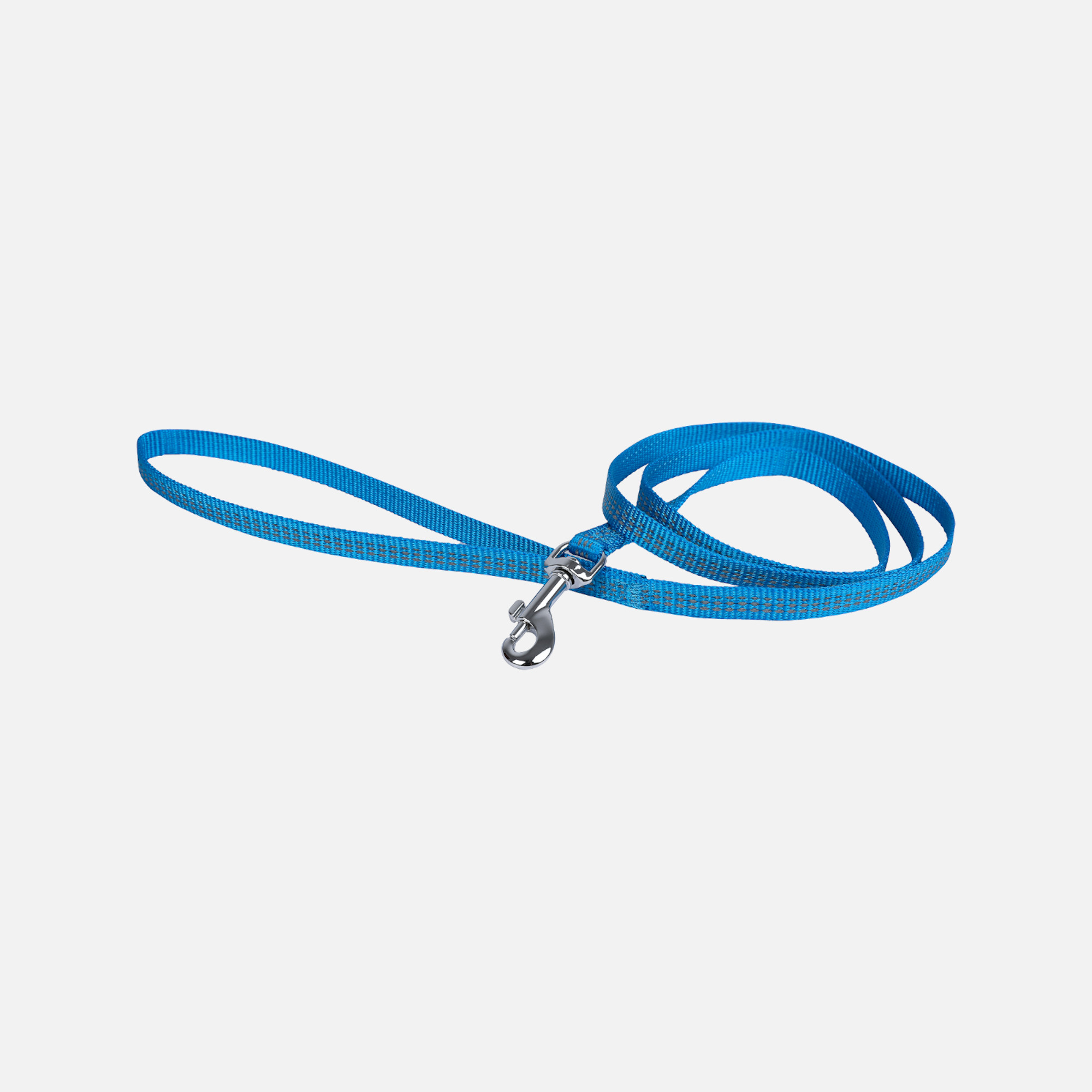 Laisse protect bleu 10mmx1,2m de wouapy