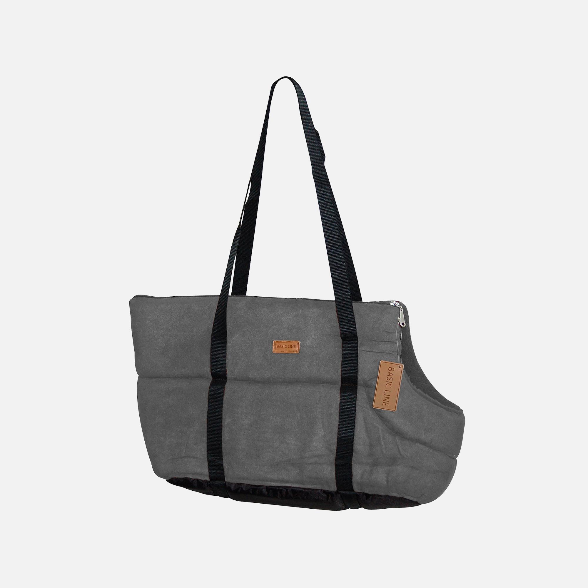sac basic line gris de wouapy