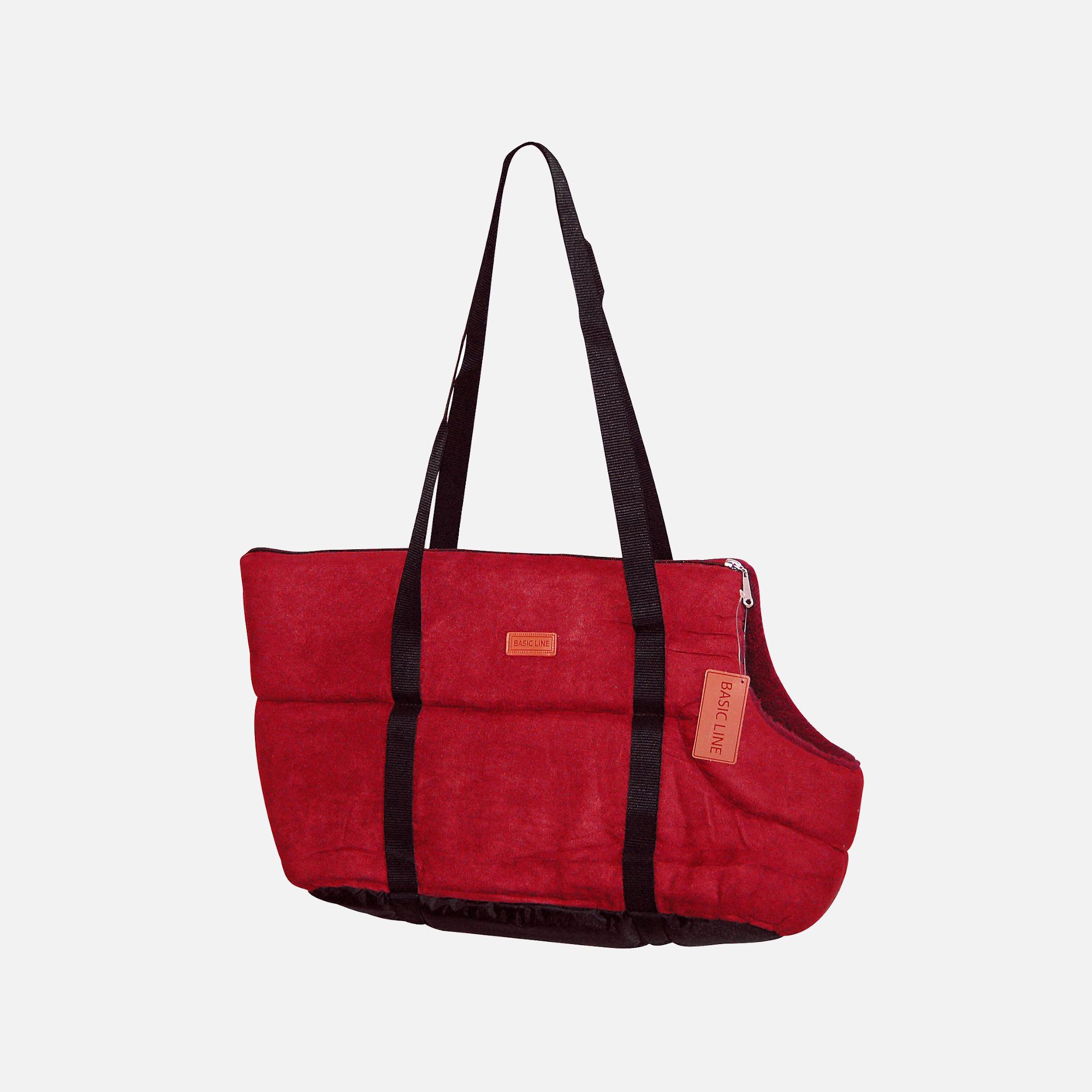 sac basic line rouge de wouapy